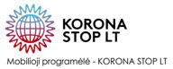 Korona stop lt programėlė